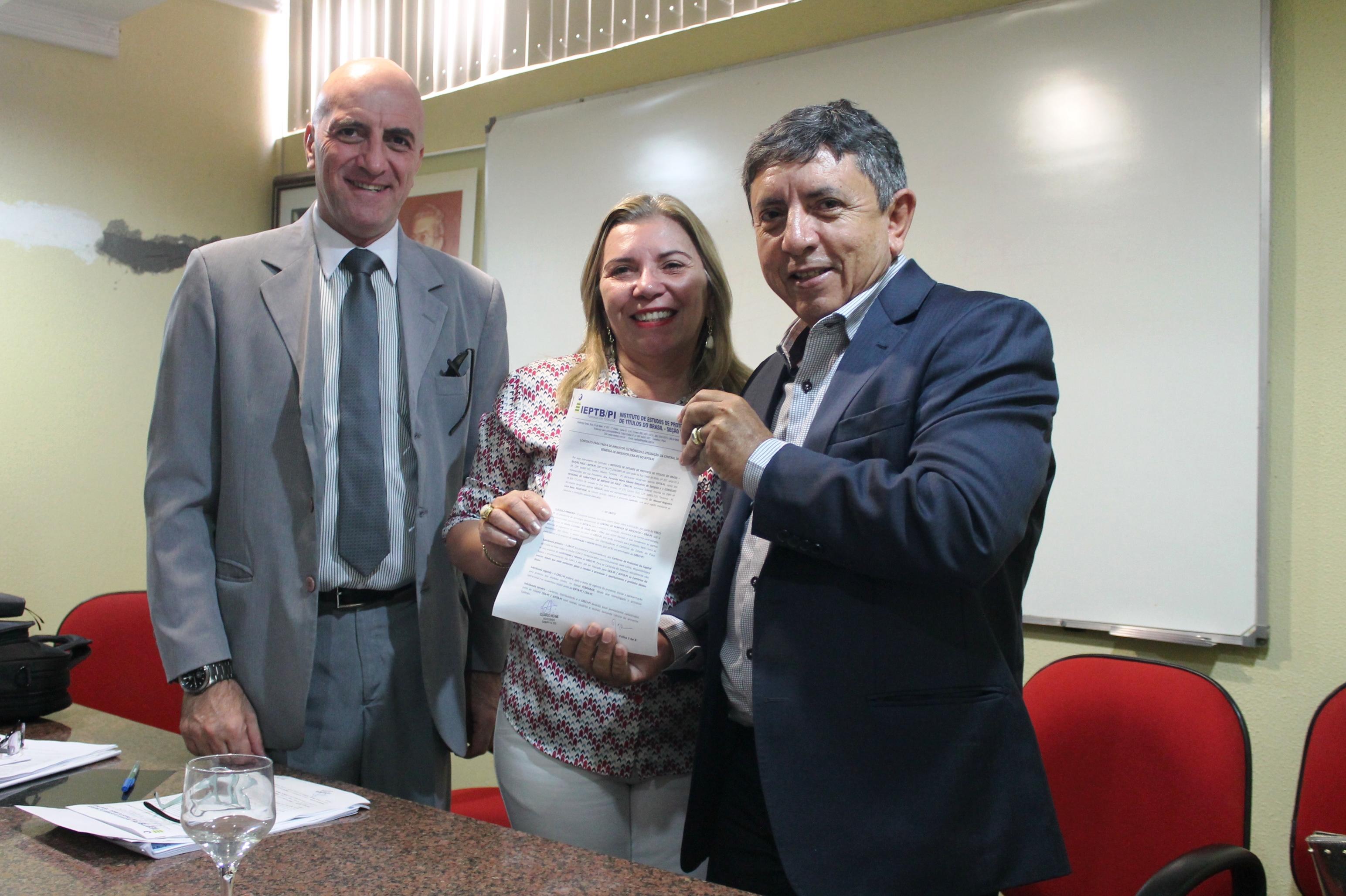 Assinatura do convênio com IEPTB/PI